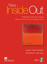 New Inside Out Upper Intermediate Workbook with Key with Audio CD