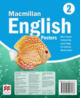 Macmillan English 2 Posters (Only for delivery in E.U.)
