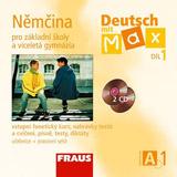 Deutsch mit Max A1 díl 1 CD /2 ks/ (němčina jako 2.cizí jazyk na ZŠ)