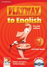 Playway to English 1 (2nd Edition) Activity Book with CD-ROM