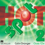 Hot Spot 2 Class Audio CDs (2)