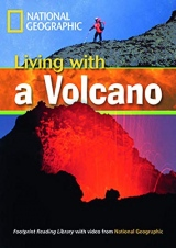 FOOTPRINT READING LIBRARY: LEVEL 1300: LIVING WITH A VOLCANO with M/ROM (BRE)