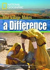 FOOTPRINT READING LIBRARY: LEVEL 1300: ONE VILLAGE MAKES A DIFF with M/ROM BRE