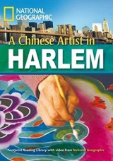 FOOTPRINT READING LIBRARY: LEVEL 2200: A CHINESE ARTIST IN HARLEM (BRE) with Multi-ROM
