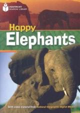 FOOTPRINT READING LIBRARY: LEVEL 800: HAPPY ELEPHANTS (BRE)