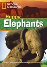 FOOTPRINT READING LIBRARY: LEVEL 800: HAPPY ELEPHANTS with M/ROM (BRE)