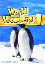 WORLD WONDERS 1 CLASS AUDIO CDs