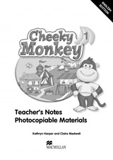 Cheeky Monkey 1 Teacher´s Book