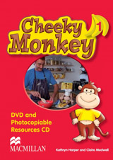 Cheeky Monkey 1 DVD & Photocopiables CD-ROM