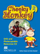 Cheeky Monkey 2 DVD & Photocopiables CD-ROM
