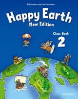 Happy Earth 2 (New Edition) Class Book