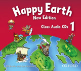 Happy Earth 1 (New Edition) Class Audio CDs (2)