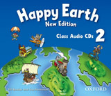 Happy Earth 2 (New Edition) Class Audio CDs (2)