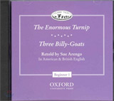 CLASSIC TALES Beginner 1 THE ENORMOUS TURNIP & Three Billy-Goats Audio CD (American and British English)