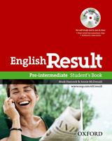 English Result Pre-Intermediate Student´s Book with DVD Pack