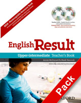 English Result Upper-Intermediate Teacher´s Resource Pack with DVD and Photocopiable Materials Book