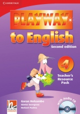 Playway to English 4 (2nd Edition) Teacher´s Resource Pack with Audio CD