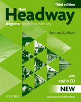 New Headway Beginner (3rd Edition) Workbook with key & Audio CD