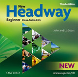New Headway Beginner (3rd Edition) Class Audio CDs (2)