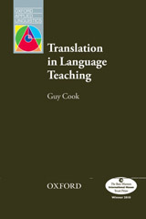 Oxford Applied Linguistics Translation in Language Teaching