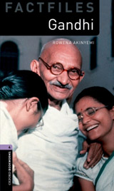 New Oxford Bookworms Library 4 Gandhi Factfile Audio Mp3 Pack