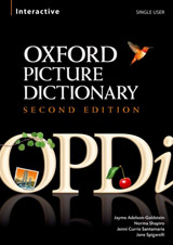The Oxford Picture Dictionary Interactive CD-ROM. Second Edition Single User Licence