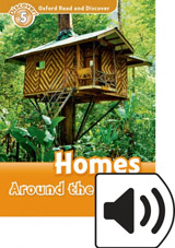 Oxford Read And Discover 5 Homes Around the World Audio Mp3 Pack