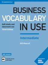 Business Vocabulary in Use 3nd Edition Intermediate with answers, ebooks and audio