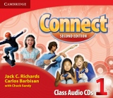 Connect 1 (2nd Edition) Class Audio CDs (2)