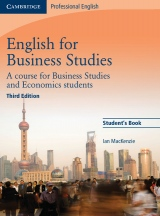 English for Business Studies 3rd Edition Student´s Book