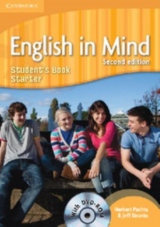 English in Mind Starter (2nd Edition) Student´s Book with DVD-ROM