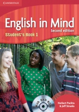 English in Mind 1 (2nd Edition) Student´s Book with DVD-ROM