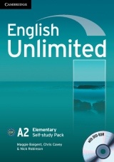 English Unlimited Elementary Workbook with DVD-ROM