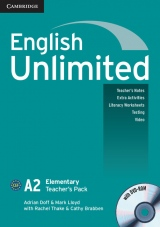 English Unlimited Elementary Teacher´s Pack (Teacher´s Book with DVD-ROM)
