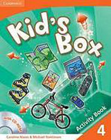 Kid´s Box 4 Activity Book with CD-ROM