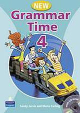 Grammar Time 4 (New Edition) Student´s Book with Multi-ROM