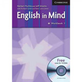 ENGLISH IN MIND 3 WORKBOOK WITH AUDIO CD/CD-ROM
