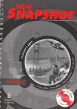 New Snapshot Starter Teacher´s Book with Testmaster CD-ROM