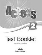 Access 2 - Test Booklet