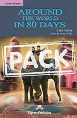 Classic Readers 2 Around the World in 80 Days - SB s aktivitami + audio CD