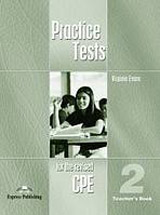 Practice Tests for the Revised CPE 2 - Teacher´s Book (overprinted)