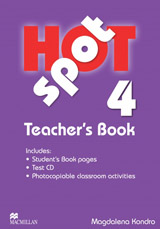 Hot Spot 4 Teacher´s Book + Test CD Pack
