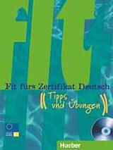 Fit fürs Zertifikat Deutsch Lehrbuch mit integrierter Audio-CD