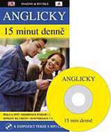 Anglicky 15 minut denně + CD MP3