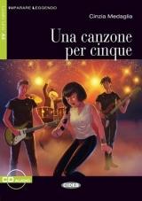 Black Cat - CANZONE PER CINQUE + CD ( Level 1)
