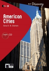 Black Cat AMERICAN CITIES + CD ( Reading & Training Discovery Level 3)