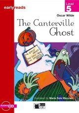 Black Cat CANTERVILLE GHOST + CD ( Early Readers Level 4)