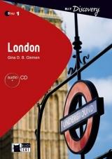 Black Cat LONDON + CD ( Reading & Training Discovery Level 1)