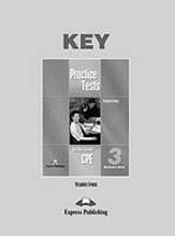 Practice Tests for the Revised CPE 3 - Student´s Book Key