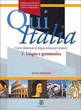 QUI ITALIA 1. Lingua e grammatica